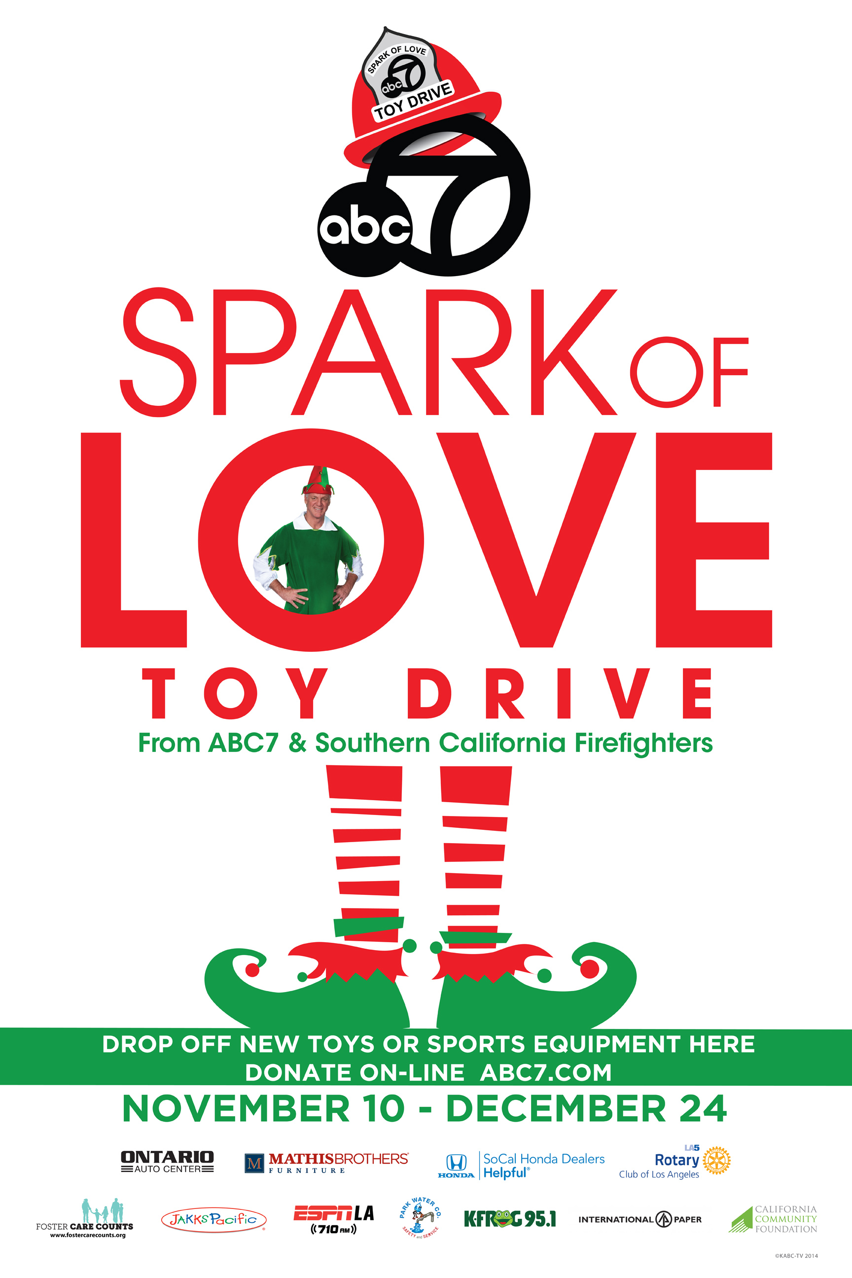 Spark of Love Toy Drive