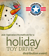 Operation Homefront – Holiday Toy Drive