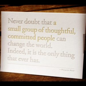 Margaret Mead Good Quote