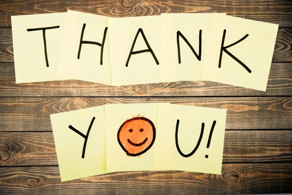 Good Deed of The Month: Thank You Notes