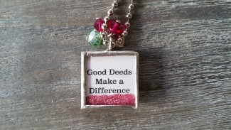 GID | Good In Deed Necklace - Back