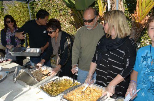 Thanksgiving Drive Buffet