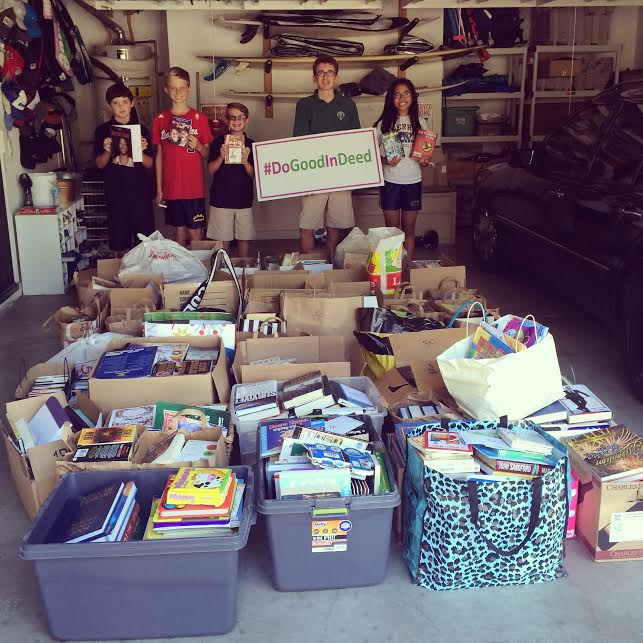 Good In Deed Book Drive