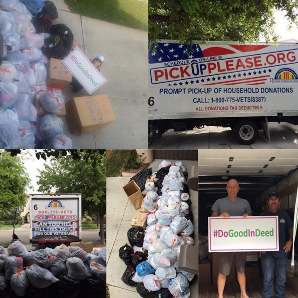 VVA clothing drive for good in deed