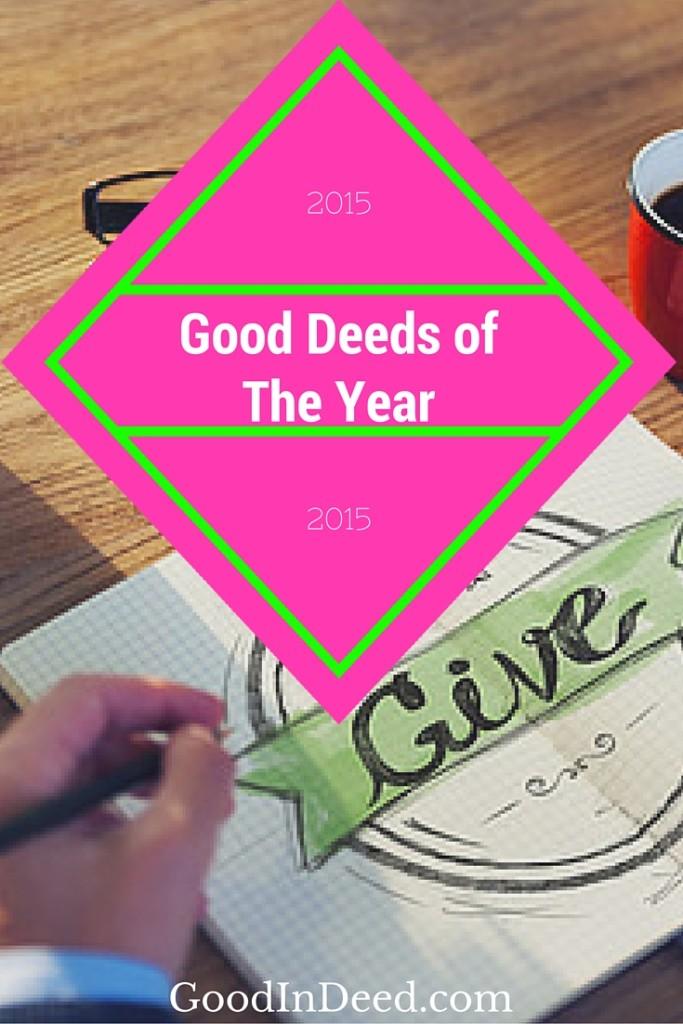 Good Deeds of 2015