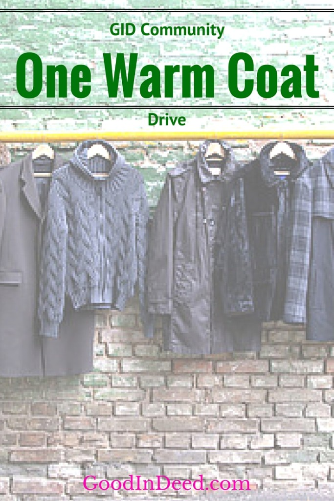One Warm Coat Drive