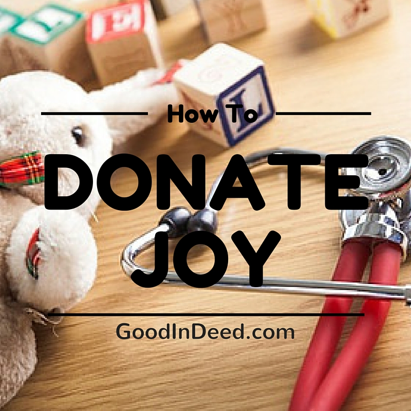 Drop off a Toy or Game at a Hospital