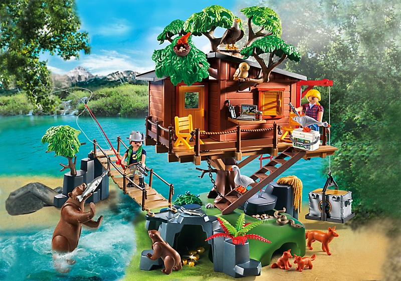 Drop Off A Toy Play Mobil Wild Life