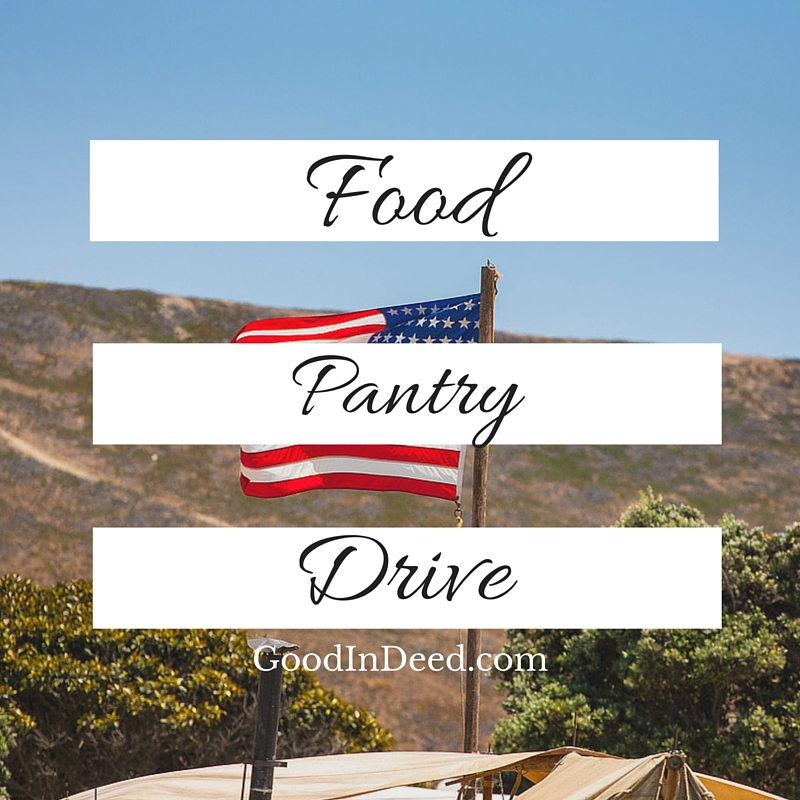 Food Collection Drive for Local Food Pantry
