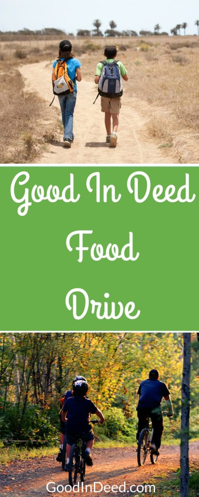 Orange County is a community that is always willing to help, especially during a food pantry drive. Even better, the Good In Deed community is ready to lend a helping hand during our own food drive.