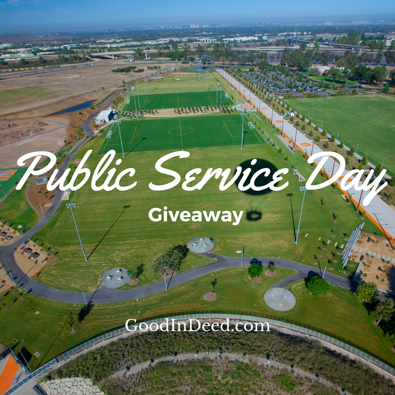 $50 Visa & $50 Giving Card Giveaway For Public Service Day