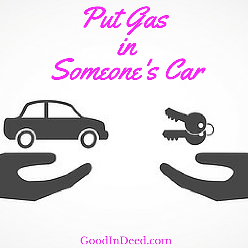 Random Act of Kindness: Fill A Gas Tank
