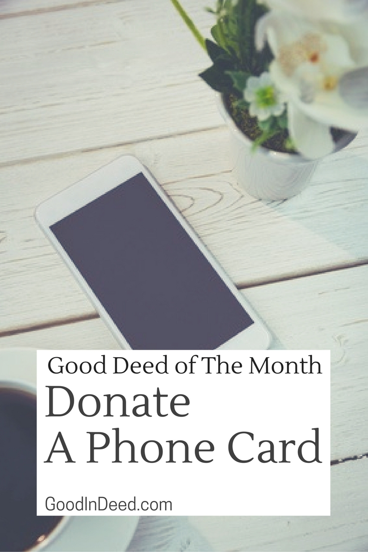 We may not notice, but we rely on our phones more than ever, but for those in a shelter, it's a bit harder to rely on a phone unless we donate a phone card.