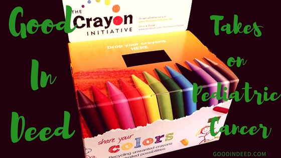 Crayon Collection & Pediatric Cancer Drive