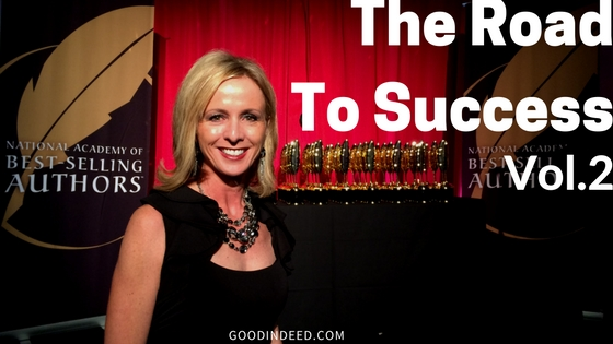 The Road to Success Volume 2 Earns Quilly Award