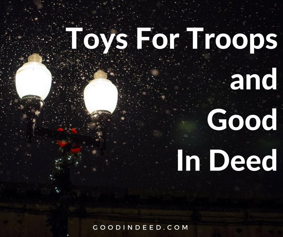 Toys For Troops Holiday Drive