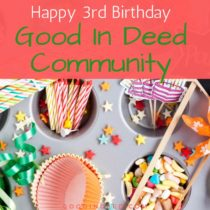 Doing Good Deeds for Three Years