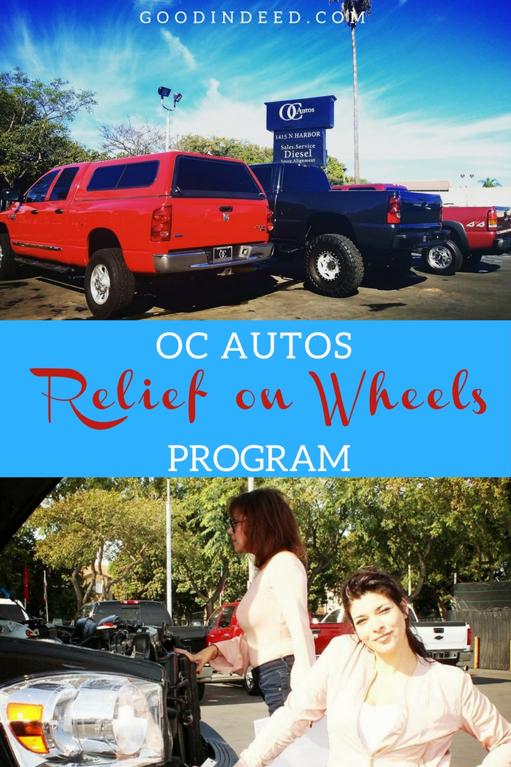 Relief on Wheels or ROW by OC Autos is helping people in need in the communities of Orange County get around town without stress.