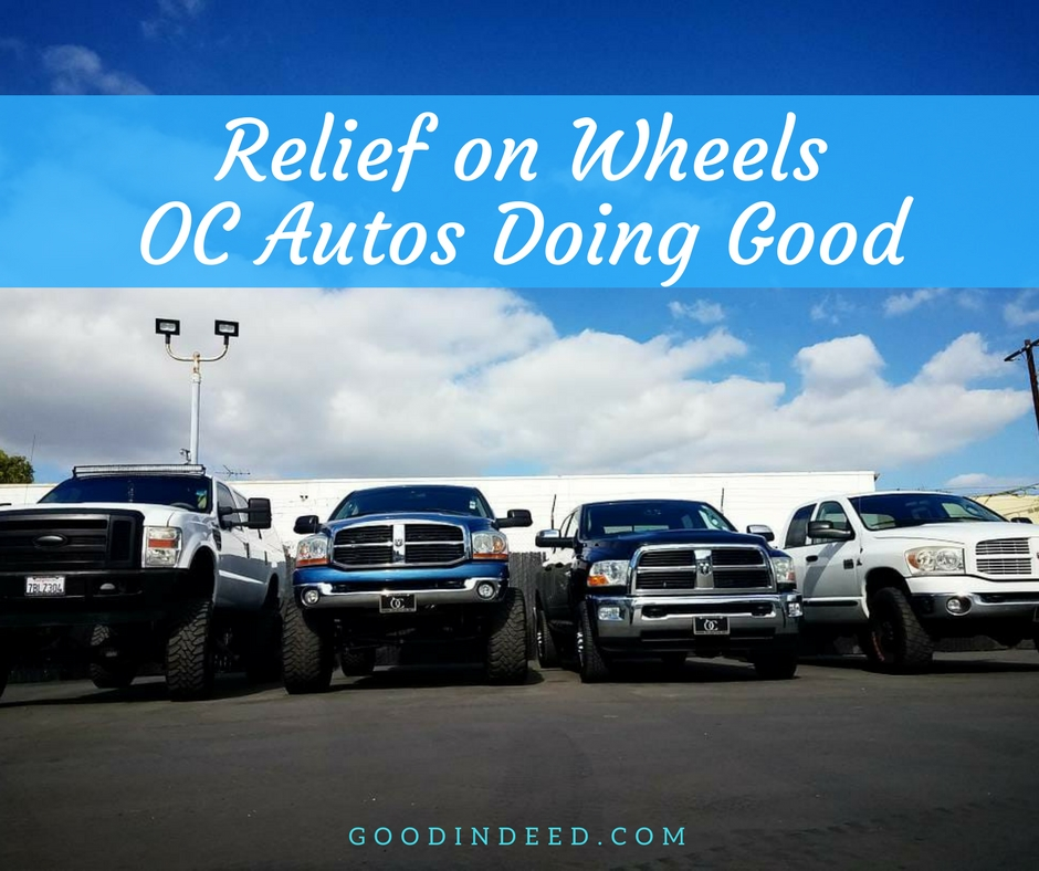 OC Autos | Relief on Wheels in Orange County