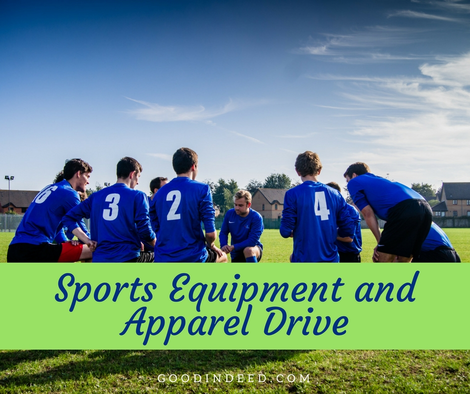 Sports Equipment and Apparel Donation Drive