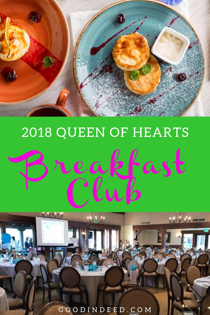 Want to attend the 2018 Queen of Hearts Foundation Breakfast Club event but need to know some details before you make a decision?