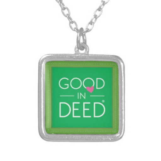 GID Sterling Silver-Plated Necklace by GoodInDeed.com