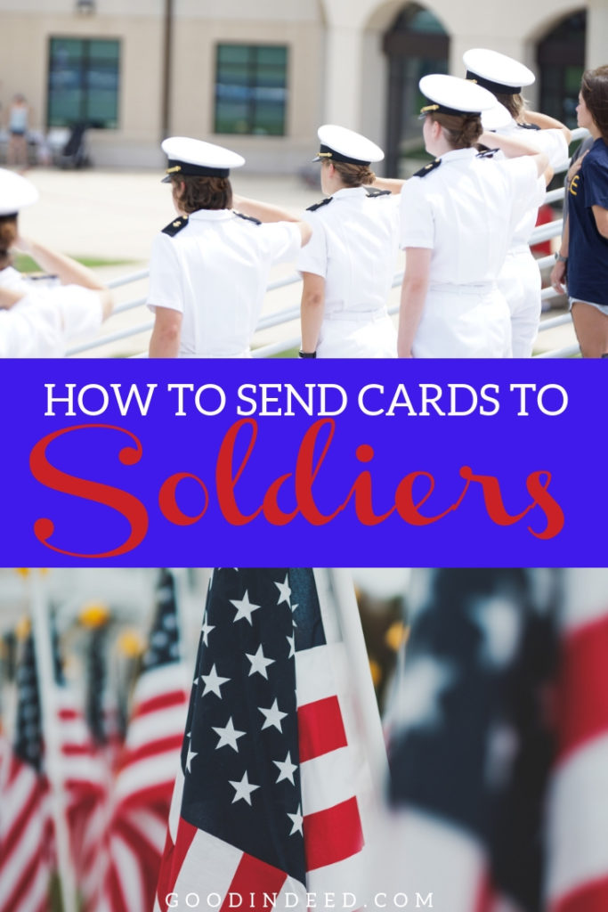 Knowing how to send cards to soldiers is the first step in doing your part to show our nation's love and support for the men and women in our armed forces.