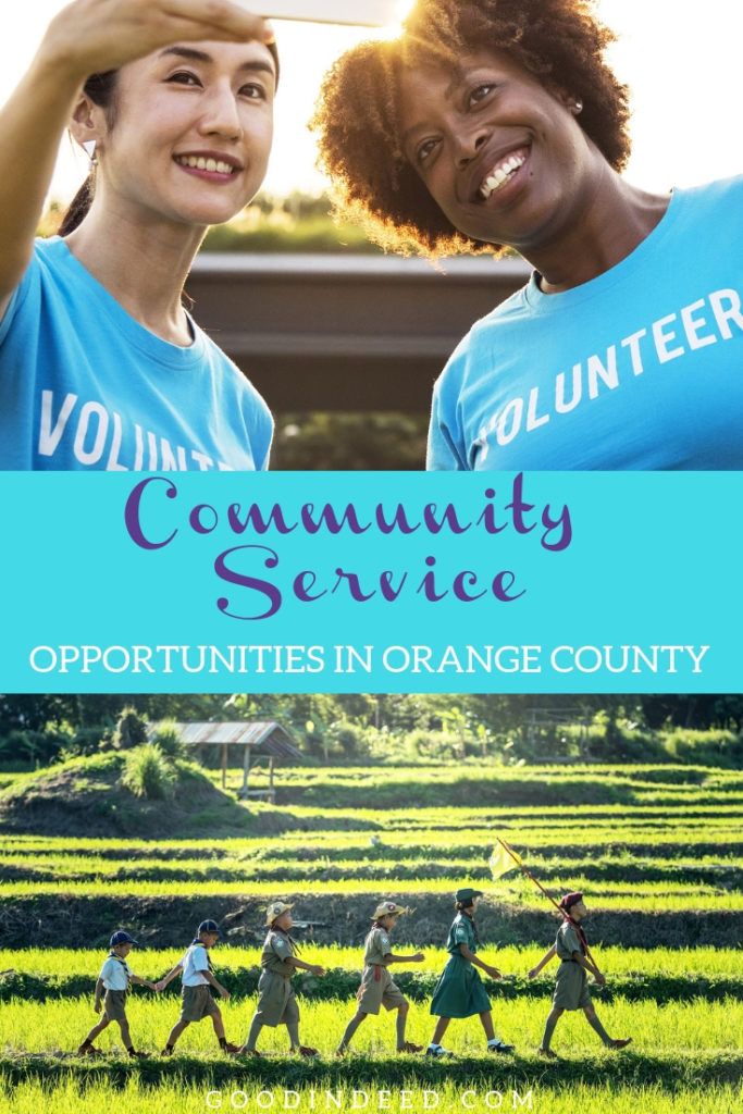 Everyone could and should get involved with the best community service organizations in Orange County to make a difference.