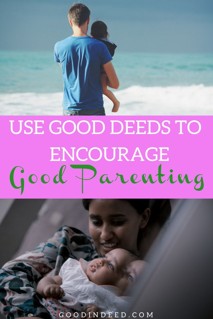 Once you've learned how to safely encourage good parenting in public, you could go around making a difference everywhere you go.