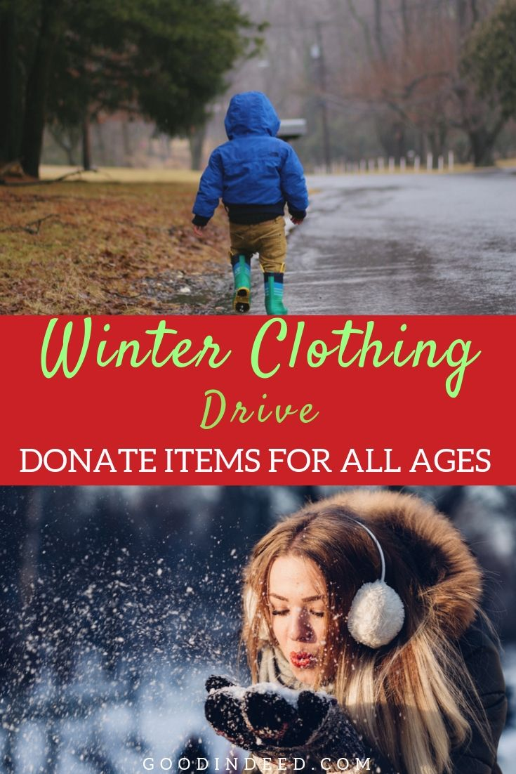 The Winter Clothing Drive helps those in need to stay warm during the winter months and now is the perfect time to donate.