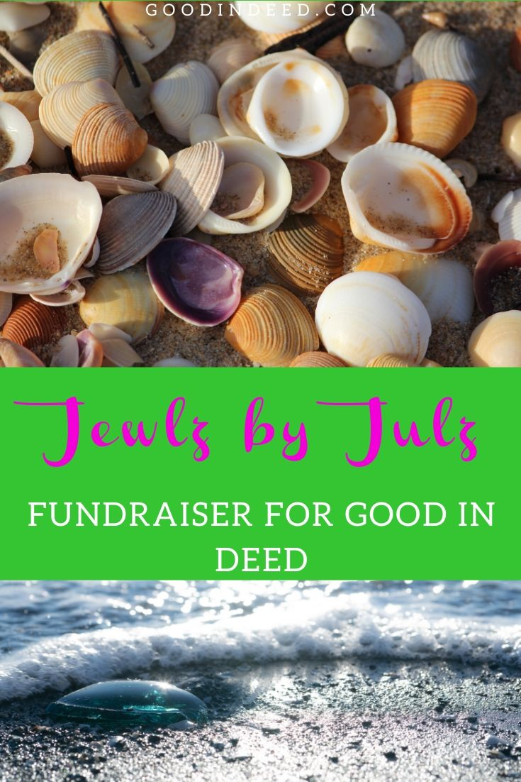 Jewlz by Julz provides shoppers with handmade jewelry and a portion of every sale goes to a charity organization like Good In Deed.