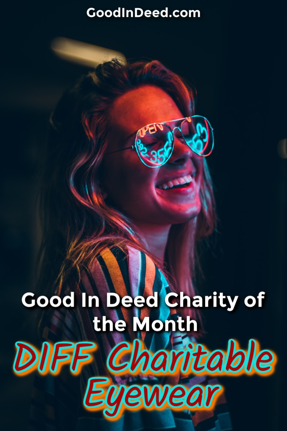 DIFF Charitable Eyewear is taking the need people have for glasses and turning it into a charitable opportunity that we all can get involved with.