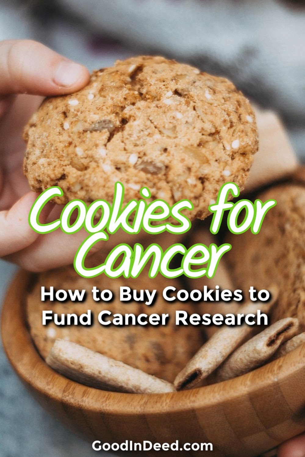 It is easier than ever to buy cookies for cancer from Cookies for Kids Cancer and you could help fund the research for cancer treatments.