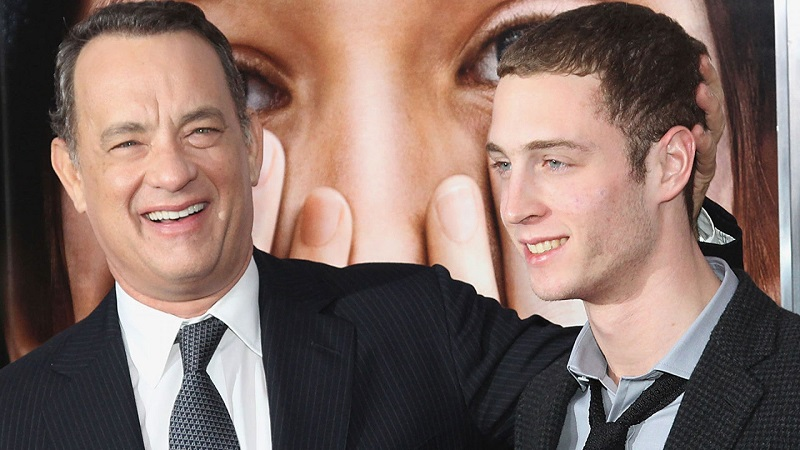 Tom Hanks with Young Man
