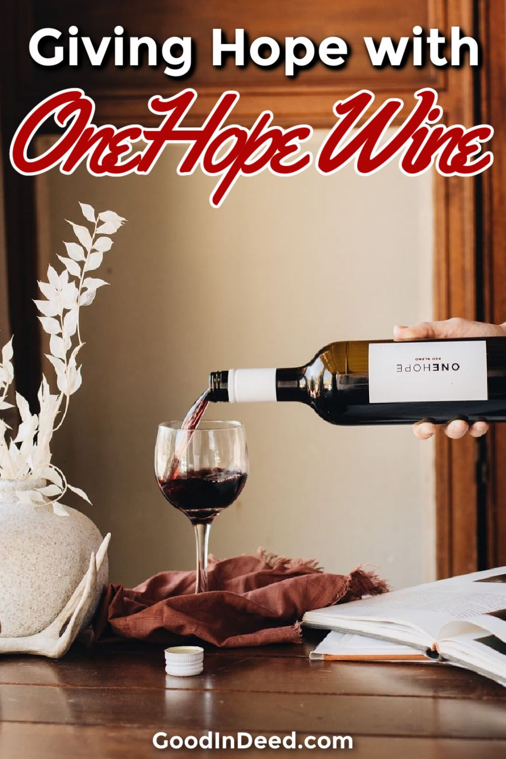 OneHope Wine gives us all the opportunity to make a difference, to give hope to those in need all while enjoying a glass of wine.