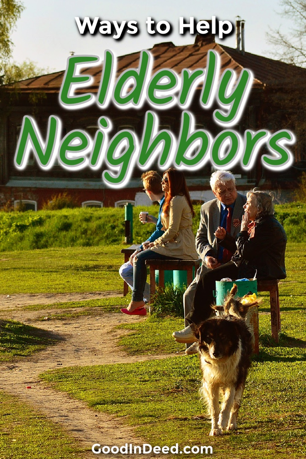 Finding ways to help elderly neighbors is easier than you may think and could start a chain reaction that ties your community together.