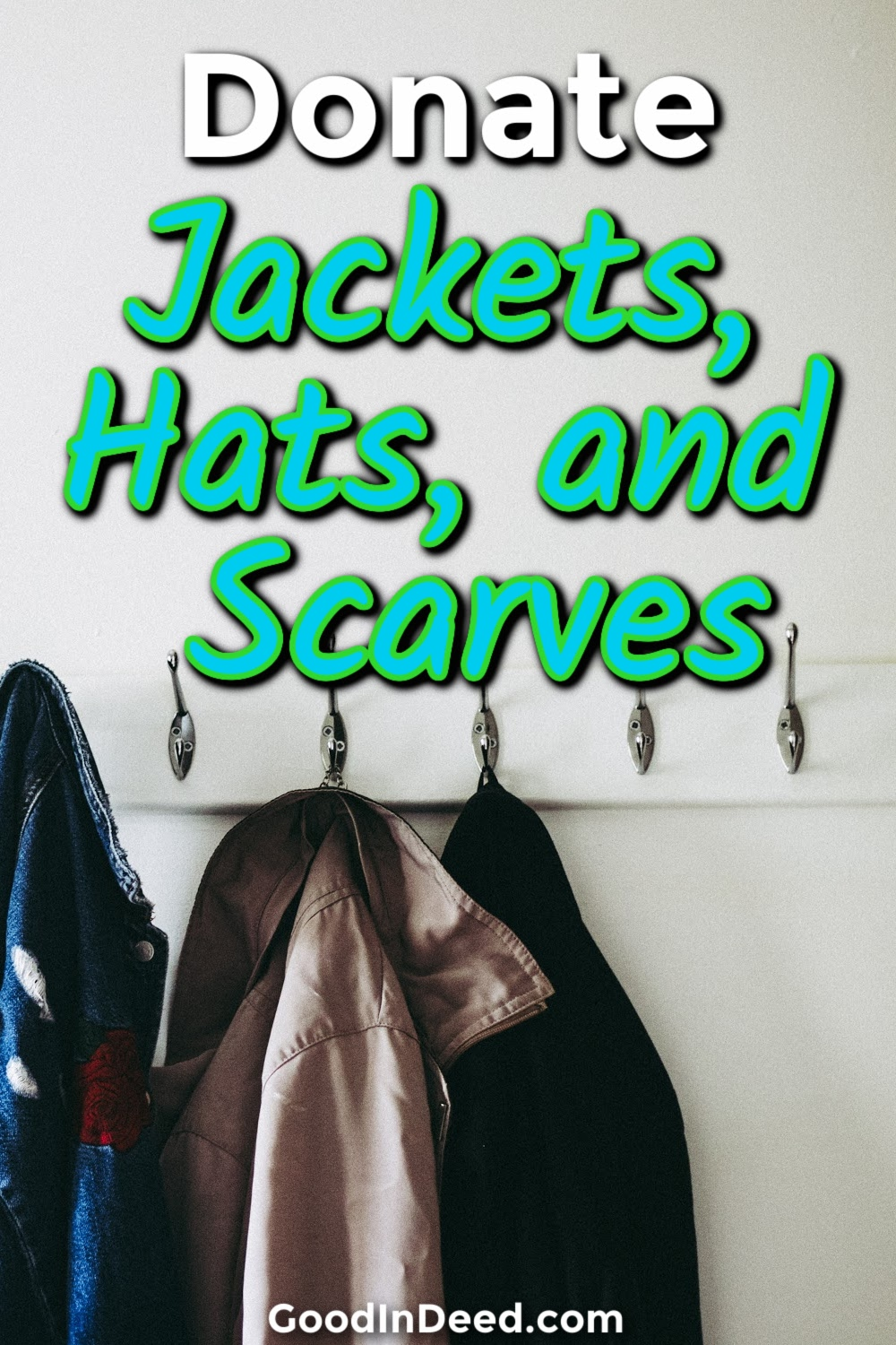 There are so many people in need of warmth, and you can donate jackets you do not plan on using anymore to help get things started.
