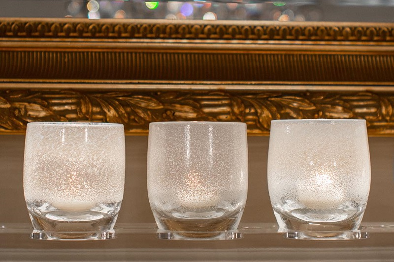 Giving the Gift of light with Glassybaby