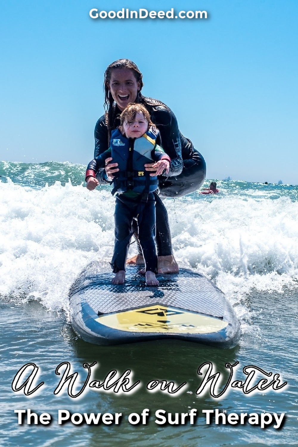 Supporting A Walk on Water in SoCal does more than just gives an organization paddle boards and paddles in fun ways.
