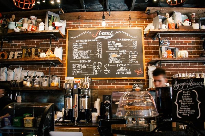 Beam App for Charity Coffee Shop Menu Board