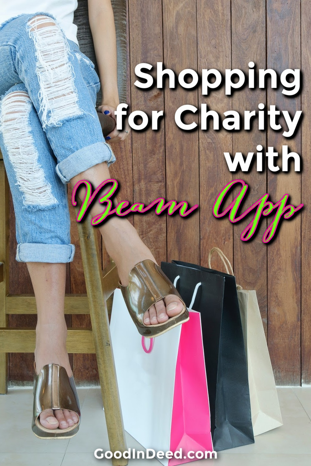 The Beam app for charity allows you to turn everyday purchases into random acts of kindness with the click of a button.