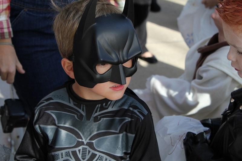 My Hero Project Little Boy Dressed as Batman