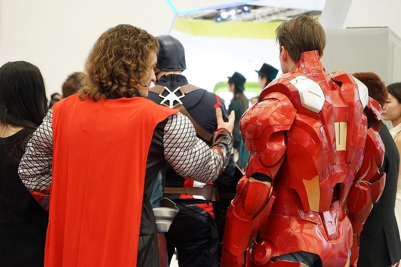 My Hero Project Two Men Dressed as Superheroes