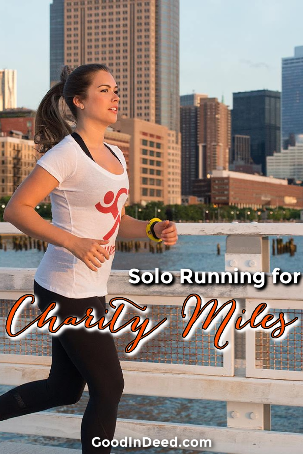 Solo running for Charity Miles is a great way to make a difference while also focusing on your physical activity.