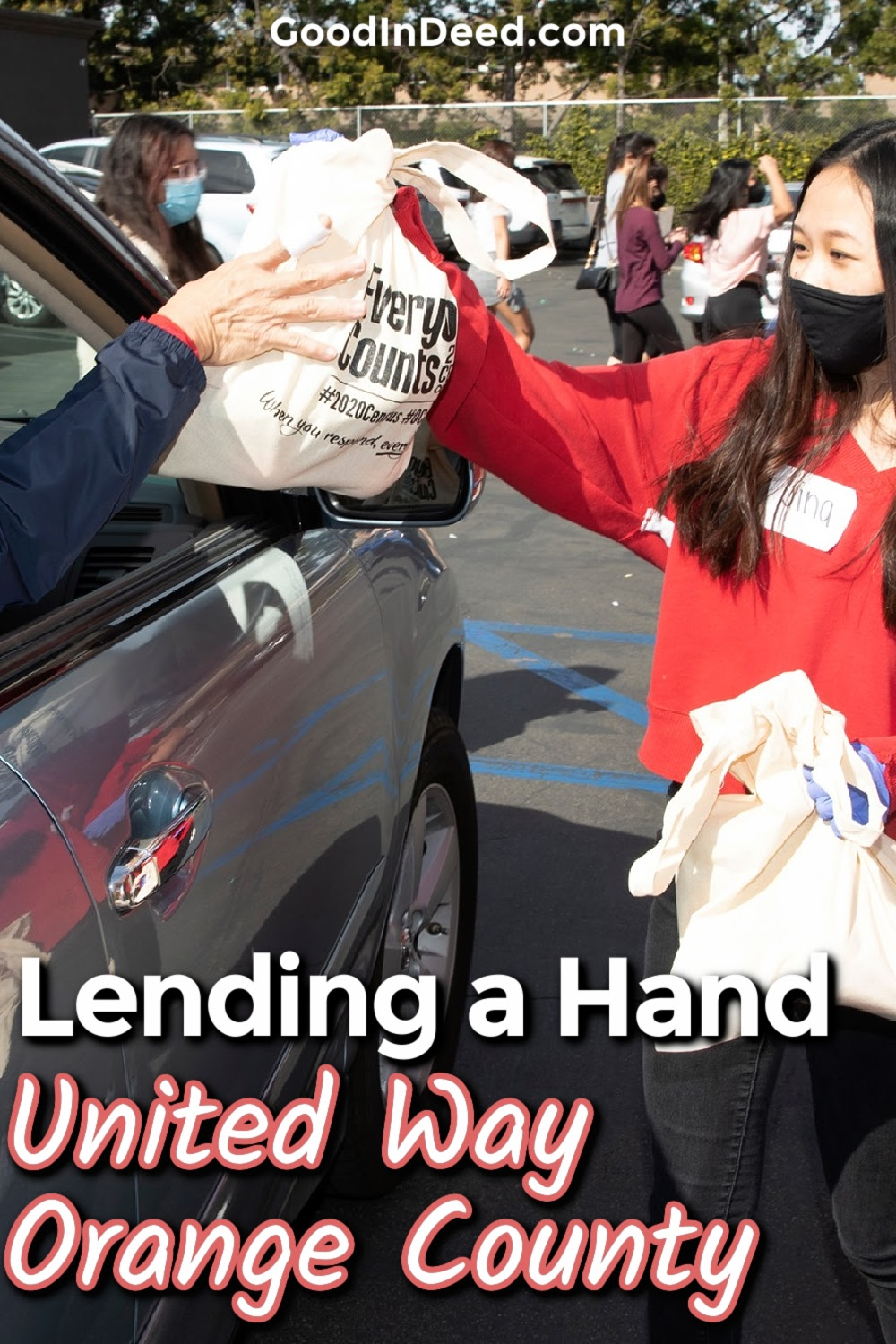 We can all lend a helping hand the United Way of Orange County so that the future of our community is in good hands.