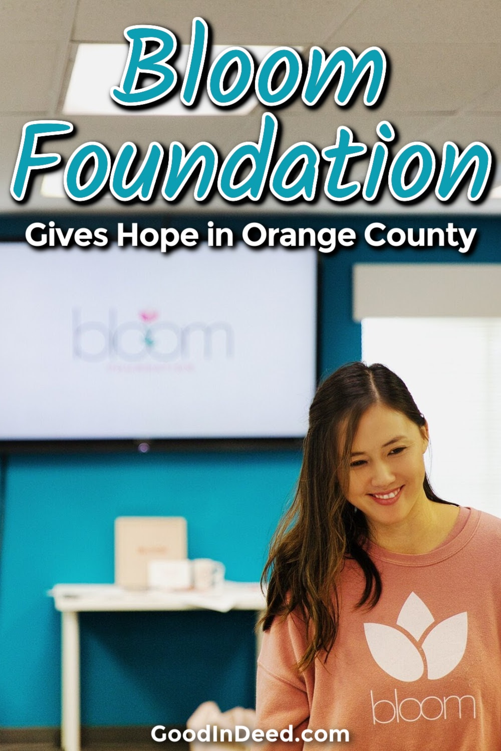 Bloom Foundation gives hope to students dealing with bullying in school so that they can find a better way to handle bullying.