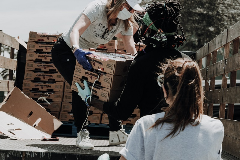 Good Deeds for Teens to Do During Summer Teens Volunteering Dropping Food Off