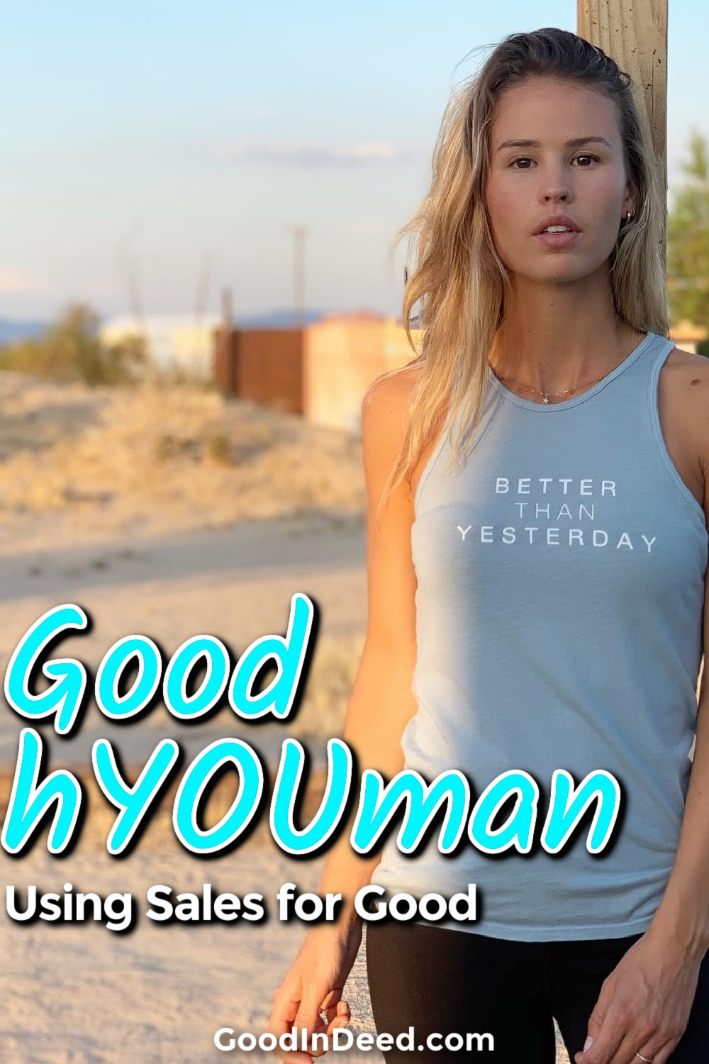 You can shop any Good hYOUman sale and know that you are not only getting high quality clothing, but you are also making a difference.