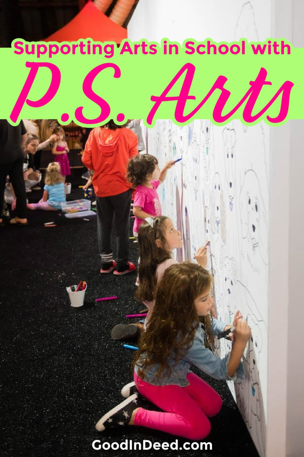Supporting PS Arts space in schools is especially important as it gives underfunded schools the chance to teach art in many ways.
